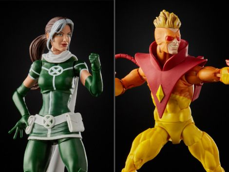 (PRE-ORDER) X-MEN 20TH ANNIVERSARY MARVEL LEGENDS ROGUE AND PYRO