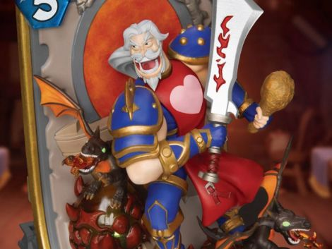 (PRE-ORDER) HEARTHSTONE D-STAGE DS-072 LEEROY JENKINS STATUE
