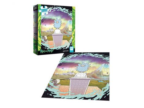 (RELEASED) RICK AND MORTY SHY POOPER 1000-PIECE PUZZLE