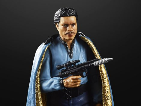 (COMING SOON) STAR WARS 40TH ANNIVERSARY THE BLACK SERIES LANDO CALRISSIAN (THE EMPIRE STRIKES BACK)