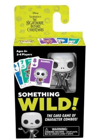 (RELEASED) SOMETHING WILD! CARD GAME- NIGHTMARE BEFORE CHRISTMAS