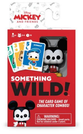 (RELEASED) SOMETHING WILD! CARD GAME- DISNEY MICKEY AND FRIENDS