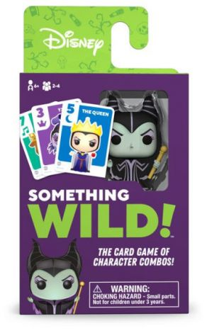(RELEASED) SOMETHING WILD! CARD GAME- DISNEY VILLAINS