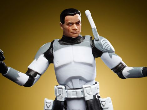 (PRE-ORDER) STAR WARS: THE VINTAGE COLLECTION CLONE COMMANDER WOLFFE (CLONE WARS)