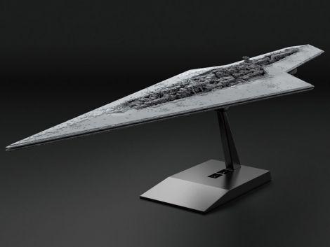 (RELEASED) STAR WARS SUPER STAR DESTROYER 1/100,000 SCALE MODEL KIT