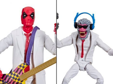 (RELEASED) MARVEL COMICS 80TH ANNIVERSARY MARVEL LEGENDS DEADPOOL & HIT-MONKEY TWO-PACK