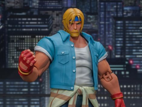 (PRE-ORDER) STREETS OF RAGE IV AXEL STONE 1/12 SCALE FIGURE