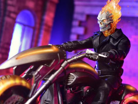 (PRE-ORDER) MARVEL ONE:12 COLLECTIVE GHOST RIDER & HELL CYCLE SET