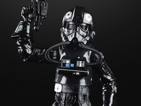 (COMING SOON) STAR WARS 40TH ANNIVERSARY THE BLACK SERIES IMPERIAL TIE FIGHTER PILOT (THE EMPIRE STRIKES BACK)