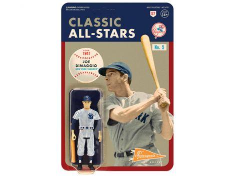 (RELEASED) MLB CLASSIC ALL-STARS REACTION JOE DIMAGGIO (NEW YORK YANKEES) FIGURE