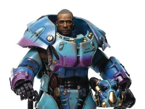 (RELEASED) FALLOUT X-01 POWER ARMOR (QUANTUM VARIANT) 1/6 SCALE PX PREVIEWS EXCLUSIVE FIGURE