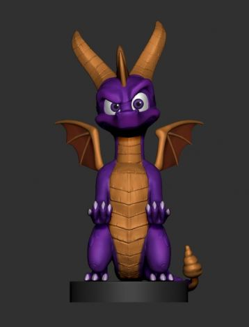 (RELEASED) SPYRO CABLE GUYS SPYRO PHONE & CONTROLLER HOLDER
