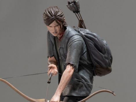 (PRE-ORDER) THE LAST OF US PART II ELLIE WITH BOW FIGURE
