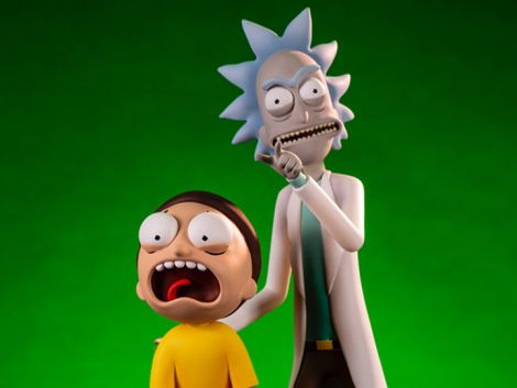 (PRE-ORDER) RICK AND MORTY FIGURE TWO-PACK
