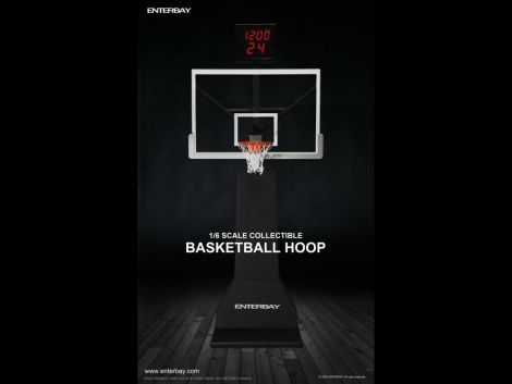 (PRE-ORDER) 1/6 SCALE BASKETBALL HOOP WITH SHOT CLOCK