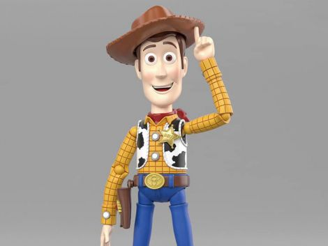 (RELEASED) TOY STORY CINEMA-RISE WOODY MODEL KIT