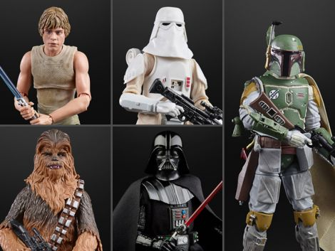 (PRE-ORDER) STAR WARS 40TH ANNIVERSARY THE BLACK SERIES WAVE 36 SET OF 5 FIGURES