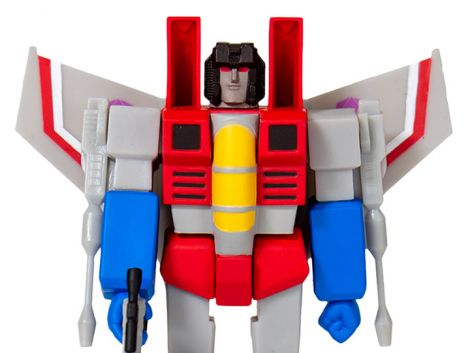 (RELEASED) TRANSFORMERS REACTION STARSCREAM FIGURE