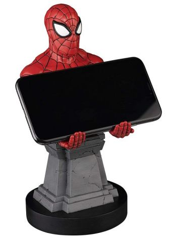 (RELEASED) MARVEL CABLE GUYS SPIDER-MAN PHONE & CONTROLLER HOLDER