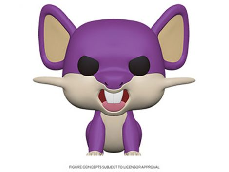 (RELEASED) POP! GAMES: POKEMON S3 - RATTATA