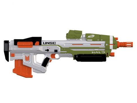 (RELEASED) HALO INFINITE NERF MA40 MOTORIZED DART BLASTER (WITH GAME CODE)