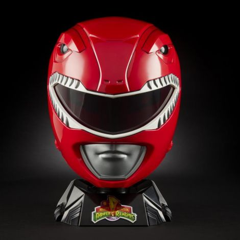 (PRE-ORDER) MIGHTY MORPHIN POWER RANGERS LIGHTNING COLLECTION RED RANGER 1:1 SCALE WEARABLE HELMET