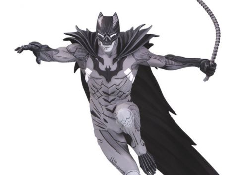 (RELEASED) BATMAN BLACK & WHITE STATUE BY KENNETH ROCAFORT
