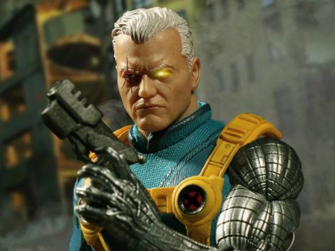(RELEASED) ONE:12 COLLECTIVE MARVEL PX CABLE X-MEN