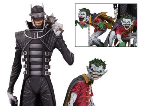 (RELEASED) DARK NIGHTS: METAL THE BATMAN WHO LAUGHS AND ROBIN MINIONS DELUXE LIMITED EDITION STATUE