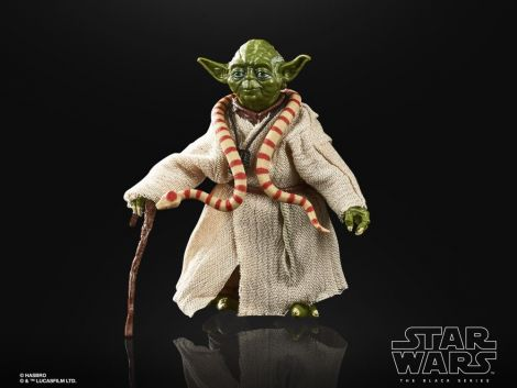 "(RELEASED) STAR WARS 40TH ANNIVERSARY THE BLACK SERIES 6"" YODA (THE EMPIRE STRIKES BACK)"