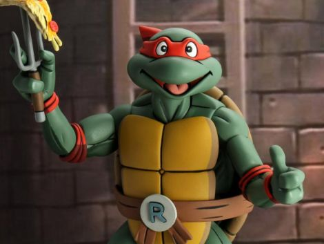 (PRE-ORDER) TMNT (ANIMATED SERIES) RAPHAEL 1/4 SCALE FIGURE