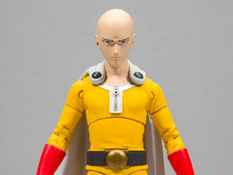 (RELEASED) ONE-PUNCH MAN SAITAMA ACTION FIGURE