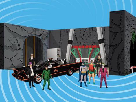 (PRE-ORDER) BATMAN CLASSIC TV SERIES 5 POINTS BOX SET