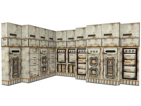 (RELEASED) SECTOR 7 MODULAR PANELS 1/12 SCALE POP-UP DIORAMA