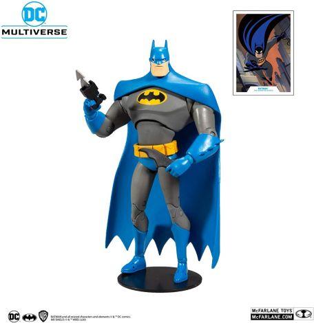 (RELEASED) BATMAN: THE ANIMATED SERIES DC MULTIVERSE BATMAN ACTION FIGURE (BLUE VARIANT)