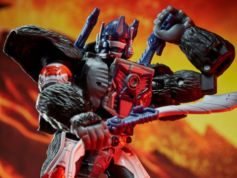 (PRE-ORDER) TRANSFORMERS WAR FOR CYBERTRON: KINGDOM VOYAGER OPTIMUS PRIMAL