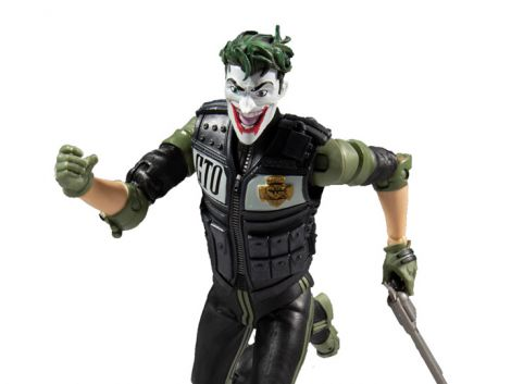 (RELEASED) THE JOKER: BATMAN: WHITE KNIGHT DC MULTIVERSE JACK NAPIER JOKER ACTION FIGURE