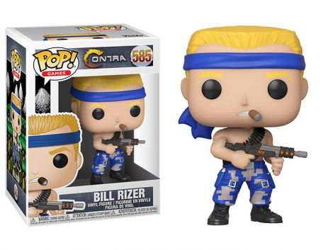 (RELEASED) POP! GAMES: CONTRA - BILL RIZER