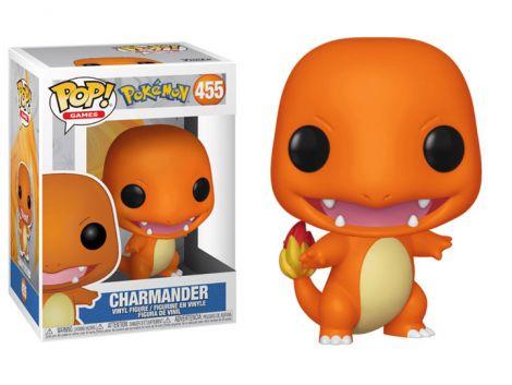 (RELEASED) POP! GAMES: POKEMON - CHARMANDER