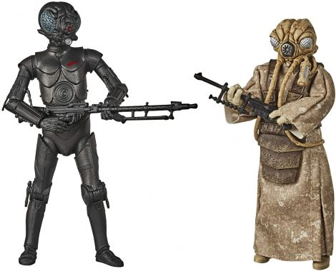 (RELEASED) STAR WARS THE BLACK SERIES 4-LOM AND ZUCKUSS 2-PACK