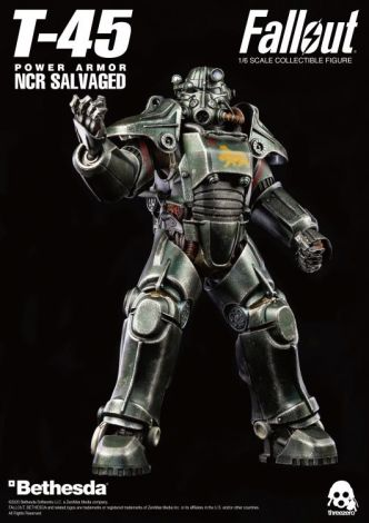 (PRE-ORDER) FALLOUT T-45 NCR SALVAGED POWER ARMOR 1/6 SCALE FIGURE