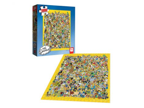 (RELEASED) THE SIMPSONS CAST OF THOUSANDS 1000-PIECE PUZZLE