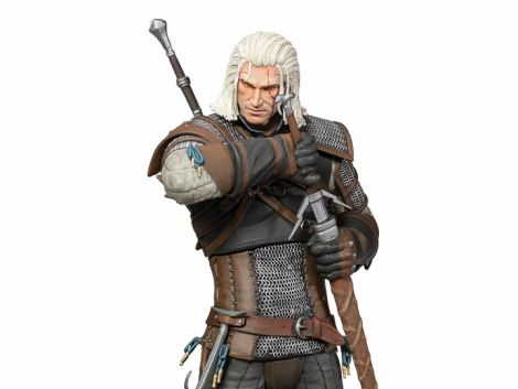 (PRE-ORDER) THE WITCHER 3: WILD HUNT GERALT HEART OF STONE DELUXE FIGURE