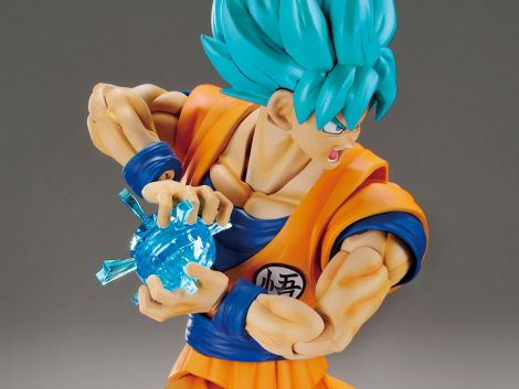 (RELEASED) DB SUPER SSGSS SON GOKU FIGURE-RISE STD MDL KIT SPECIAL VER