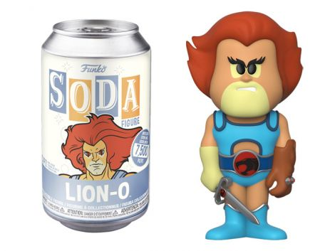 (RELEASED) THUNDERCATS VINYL SODA LION-O LIMITED EDITION FIGURE
