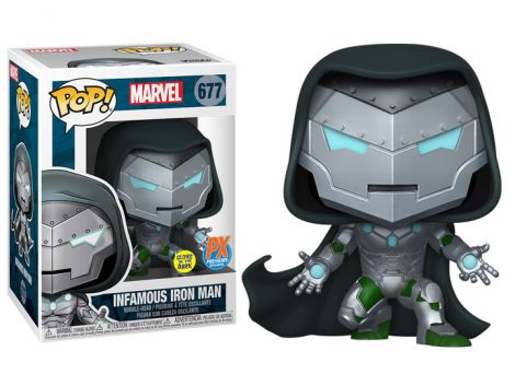 (RELEASED) POP! MARVEL: INFAMOUS IRON MAN PX PREVIEWS LIMITED EDITION EXCLUSIVE