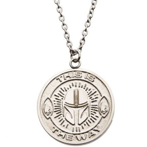 (PRE-ORDER) STAR WARS: THE MANDALORIAN THIS IS THE WAY NECKLACE