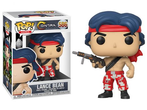 (RELEASED) POP! GAMES: CONTRA - LANCE BEAN