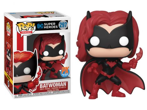 (RELEASED) POP! HEROES: BATWOMAN PX PREVIEWS EXCLUSIVE