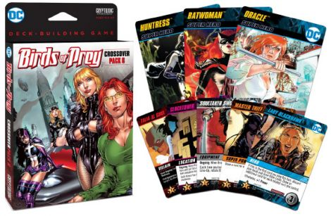 (RELEASED) DC COMICS DBG CROSSOVER PK #6  - BIRDS OF PREY